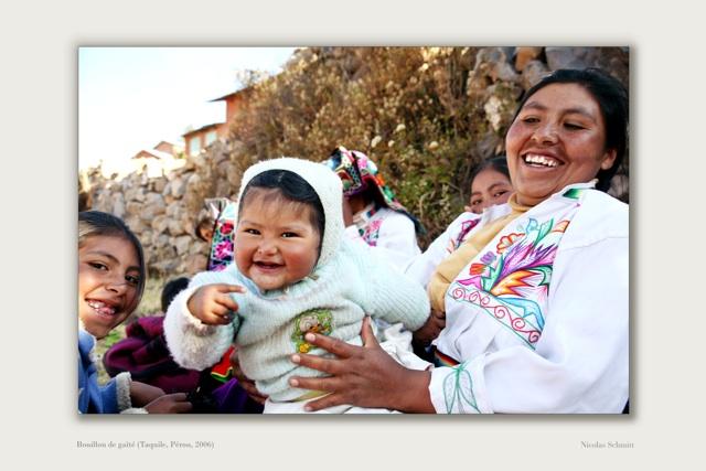 32 Bouillon de gaîté (Taquile, Pérou, 2006)